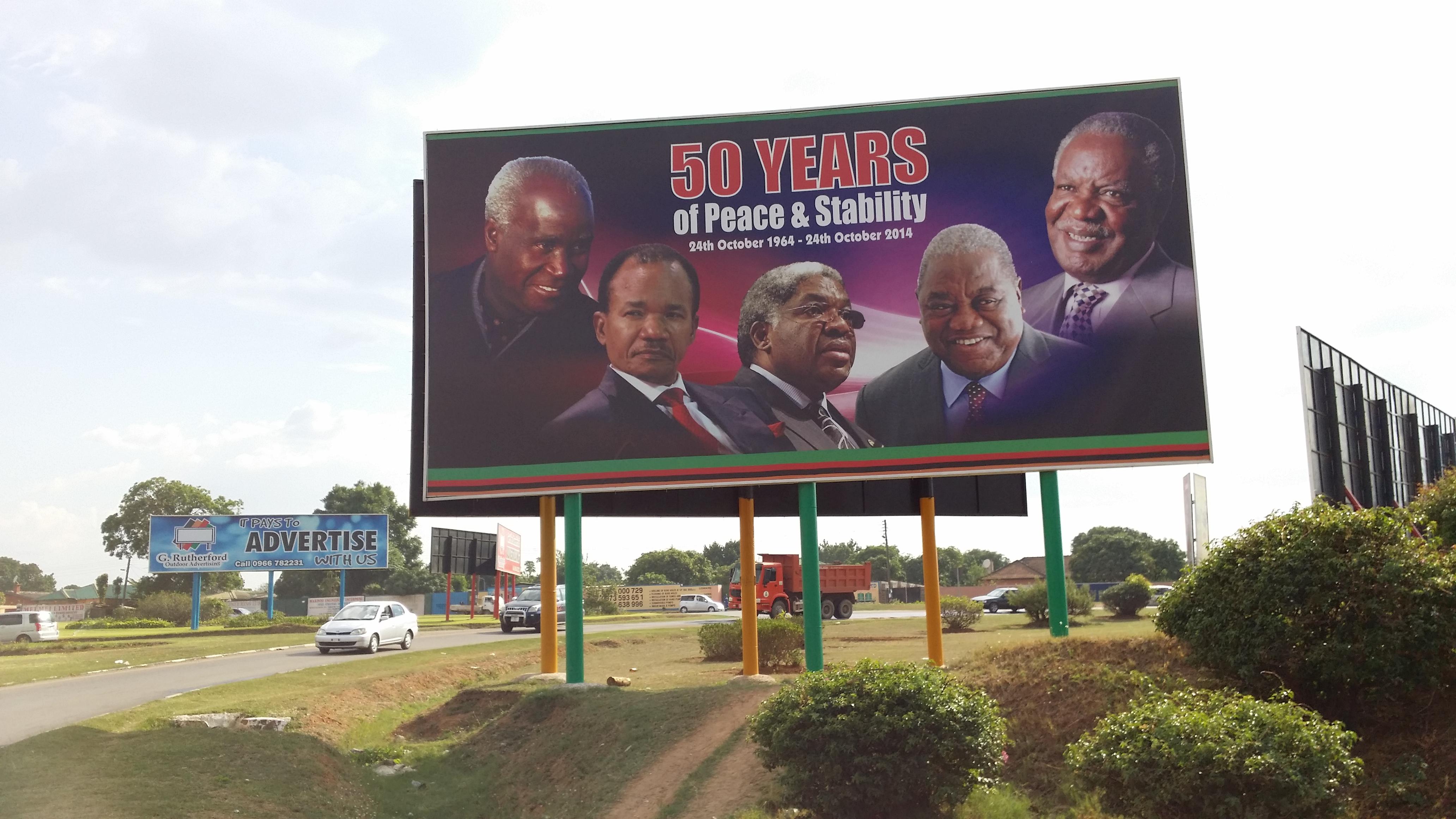 Zambian Presidents 2014