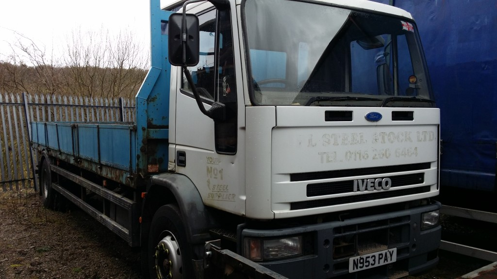 Iveco 18t Dropside Truck