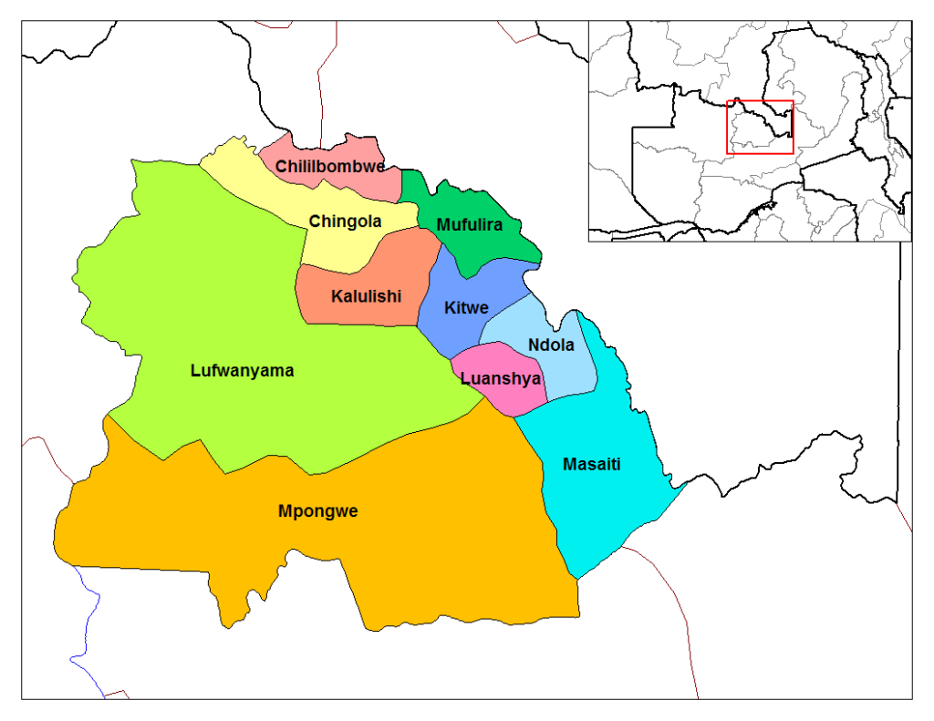 Copperbelt_districts