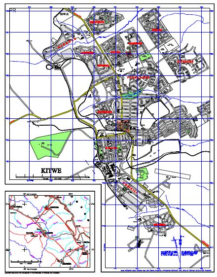 MAP OF KITWE 1961Kitwe On Line Kitwe On Line