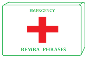 Emergency Bemba Phrases