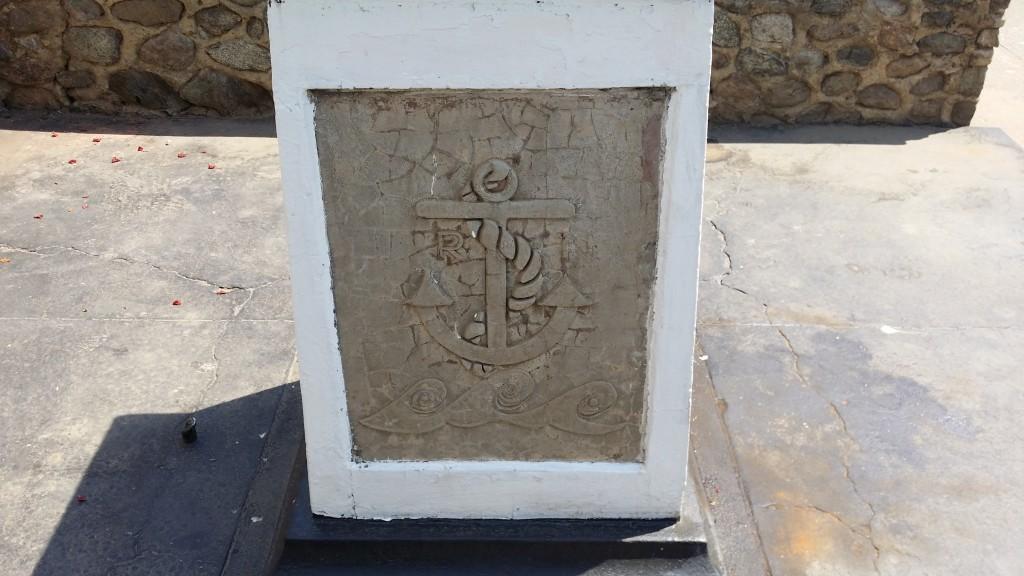Kitwe War Memorial - Royal Navy