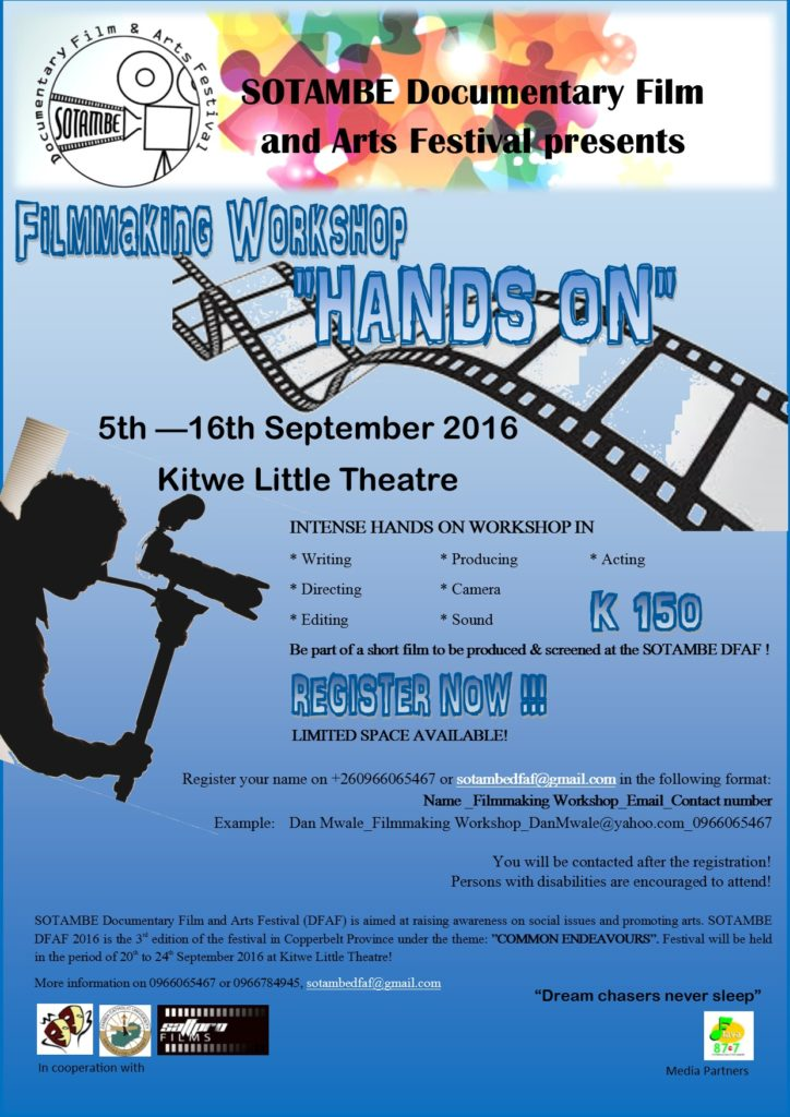 SOTAMBE FILM MAKING WORKSHOP